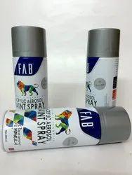 Aerosol Spray Paints Silver - FAB