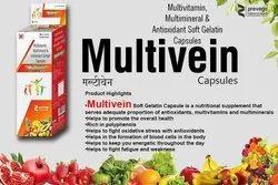 Multivitamin Multimineral and Antioxidants Softgel Capsules