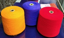 BLUE Raw Woolen Yarn, For Industrial, Count: 30