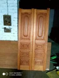 Seasoned Bakain/ Chinaberry Wooden Doors Manufacturers ( Design/size Available)