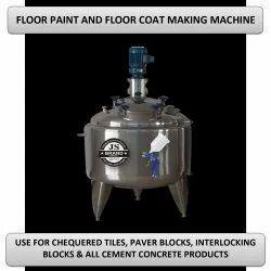 Floor Paint And Floor Coat Making Machine