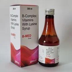 Vitamin B-Complex With Lysine Syrup