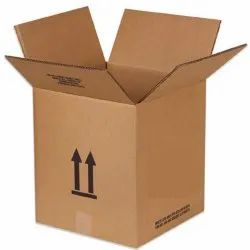 Brown Rectangular Plain Duplex Corrugated Box, For Gift & Crafts, Size(LXWXH)(Inches): 18x12x12 Inch