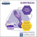 Kc500 Purple Nitrile Powder Free Examination Gloves