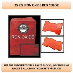 25 Kg Iron Oxide Red Color