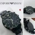Armani Chrono Working Mens Wrist Watch