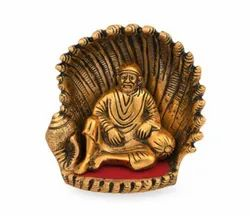 Gold Plated Sai Baba Statue For Home Decoration & Corporate Gift
