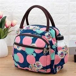 Oxford Cloth Printed Lunch Bags For Home,Office