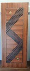 Wood Laminated UV Diamond Door, Thickness: 33 Mm