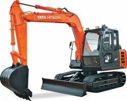 7000 Kg 55 PS Tata Hitachi EX 70 Super Plus Series Construction Excavator, Maximum Bucket Capacity: 0.10 - 0.68 cubic m