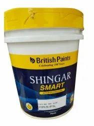 British Paints Shingar Smart Exterior Emulsion, Packaging Size: 20 L