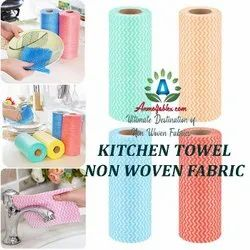 Eco Friendly Towel With Plaid Grid For The Reusable Microfiber Kitchen Towel