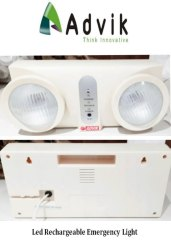 Advik Plastic Led Rechargeable Emergency Light