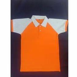 Raj Lakshmi Boys Cotton School T Shirts, Size: Small