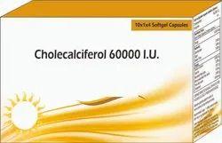 Cholecalciferol 60000 I.u Softgel Capsules