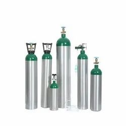 47 Litres Filled Industrial Oxygen Gas Cylinder