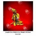 Golden Krishan God Statue