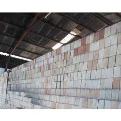 Rectangular Gray Ceramic Fire Bricks, Side Walls, Size: 12x4x2inch