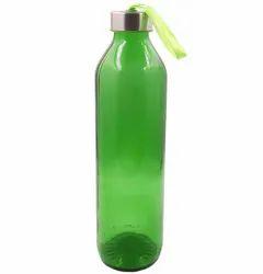 800ml Green Glass Water Bottle, Screw Cap