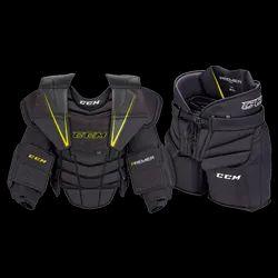 Black D30 Smart Material CCM Goalie Protective Kit