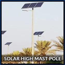 Solar High Mast Pole