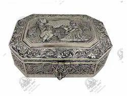 Metal Kala Polished Silver Plated Artifacts