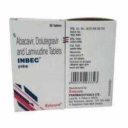 Inbec ( Abacavir, Dolutegravir & Lamivudine)