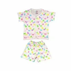 Front Open Baba Suit For Baby Unisex