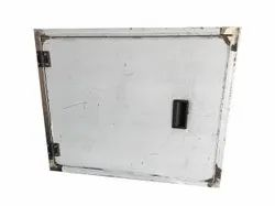 Stainless Steel Rectangular SS Panel Box, Dimension: 650 X 560 mm