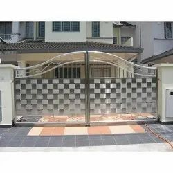 Galvanized Polished House Main Doors, For Home, Thickness: 1.2mm