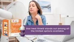 Star Heat Shield- Nano-Modified Frosted Heat Resistant Coating for Glass