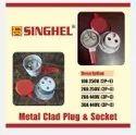 Metal Clad Plug Socket