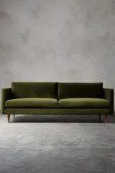 Foam Modern 2 Seater Sofa, Hall, Size: 150x70x76cm
