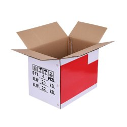 Square Printed Duplex Corrugated Paper Box, For Gift & Crafts, Size(LXWXH)(Inches): 11x6x6 Inch