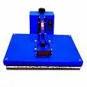 Flat Heat Press Machine Blue (16/24 Inches)
