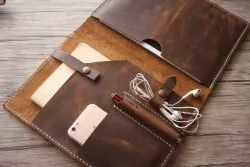 Brown Combo Gift Set Leather Corporate Gifts