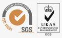 UKAS Certificate 9001
