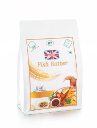 SRF White 500gm Fish Batter, Packaging Type: Ziplock Pouch