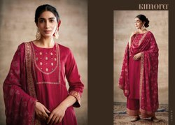 Kimora Silk Embrodery Border Beautiful Salwaar Kameez