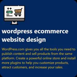 Html5/Css Dynamic Wordpress Ecommerce Website Design, With 24*7 Support