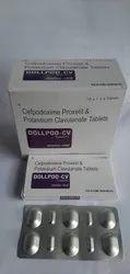 cefpodoxime 200 mg + clav 125 mg