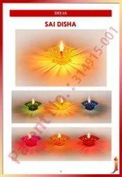 Sai Disha (Square Reflection Diya)