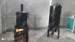 Mild Steel Cashew Boiler