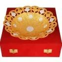 Gold Plated Fruit Bowl