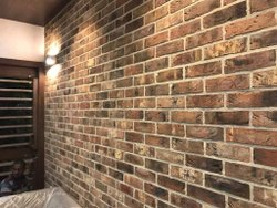 Travertine cladding  bricks