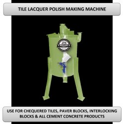 Tile Lacquer Polish Making Machine