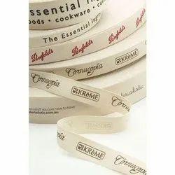 printed cotton tape