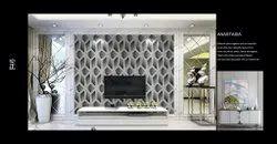 PVC Anastasia 3d Designer Wallpaper, Size: 0.53X10M