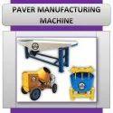 Paver Manufacturing Machine