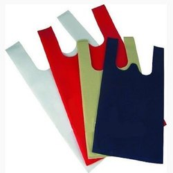 Plain W Cut Non Woven Bags, For Shopping